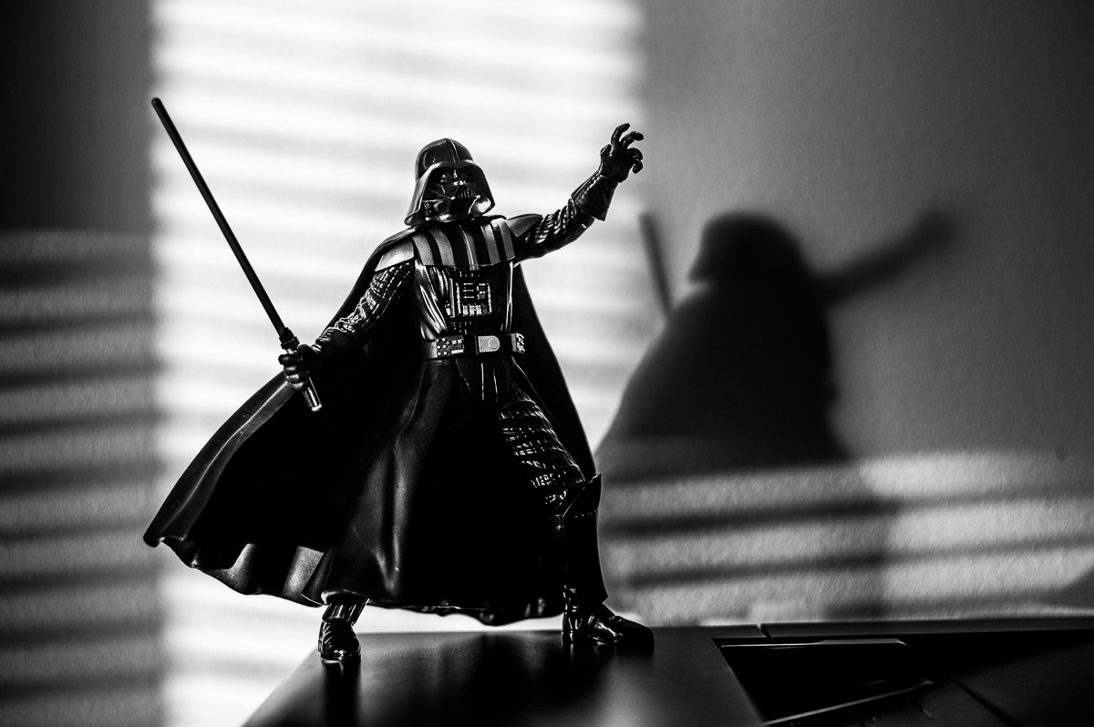 Darth Vader using the Force