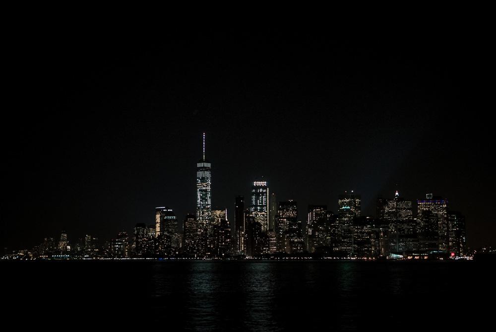 Manhattan kvällstid