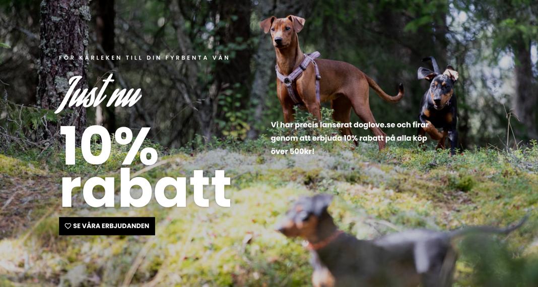 doglove.se - allt för din hund